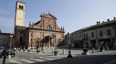 Dua Tewas Terkena Virus Corona, Kota di Italia Sepi