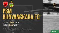 Piala Indonesia - PSM Makassar Vs Bhayangkara FC (Bola.com/Adreanus Titus)
