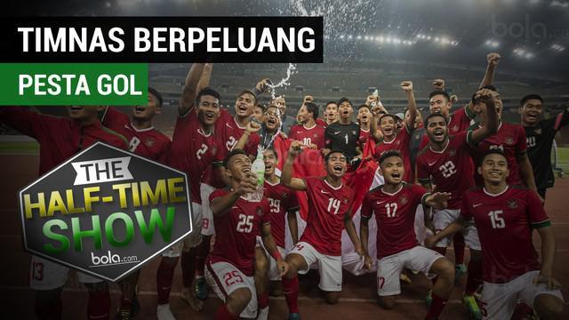 """Berita video """"Half Time Show"""" yang kali ini membahas Timnas Indonesia U-22 yang akan menghadapi Timor Leste."""