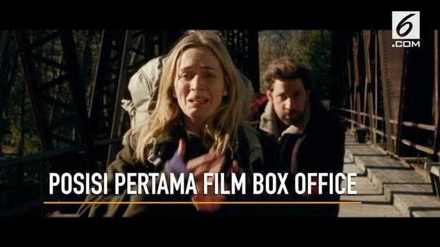 Film A Quite Place duduki peringkat pertama di Box Office.