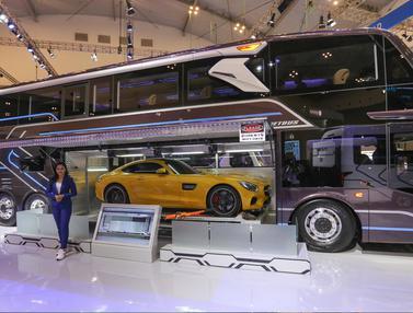 Keren, Begini Wujud Bus Angkut Mobil Sport
