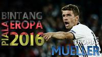 Lima gol terbaik yang pernah dicetak Thomas Muller striker Bayern Munich dan Timnas Jerman. Salah satunya, gol akrobatik ke gawang Darmstadt