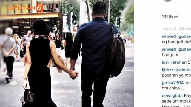 Luka yang dirasakan akibat kandasnya hubungan dengan pasangan terdahulu sudah tak dirasakan dua sejoli ini.