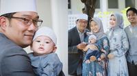 Ridwan Kamil dan Putra Angkat (Sumber: Instagram/ridwankamil)