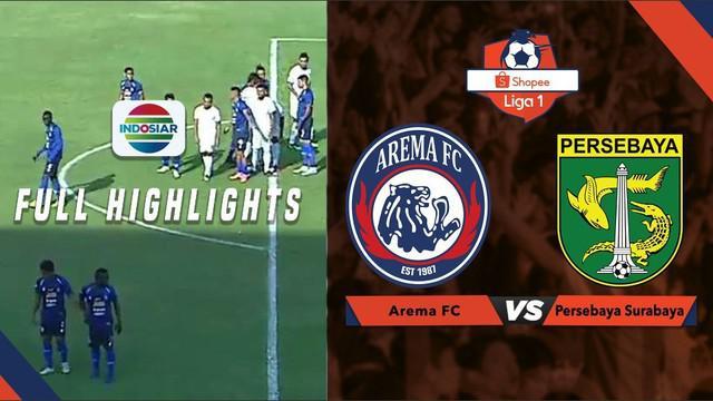 Berita video highlights Shopee Liga 1 2019 antara Arema FC melawan Persebaya Surabaya yang berakhir dengan skor 4-0, Kamis (15/8/2019).