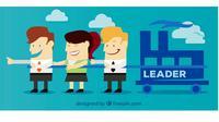Leader, pemimpin, CEO. Ilustrasi: Freepik
