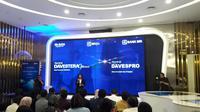 Peluncuran Produk milik PT Bank Rakyat Indonesia, yakni Asuransi Dana Investasi dan Proteksi (Davespro) dan Asuransi Dana Investasi Sejahtera (Davestera) Optima Syariah. Liputan6.com/Bawono Yadika