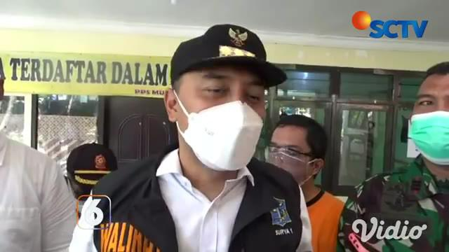 Pemerintah Kota Surabaya melarang warganya yang positif covid (OTG) untuk melakukan isoman di rumah. Pada saat ini, Pemkot sudah menyediakan tempat dan fasilitas untuk isoman, yang sudah disebar di 154 kelurahan di Surabaya, Jawa Timur.