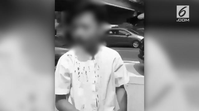 Polda Metro Jaya telah memeriksa lelaki penganiayaan bocah 14 tahun di jalan Tol. Penganiayaan anak itu jadi viral di sosial Media