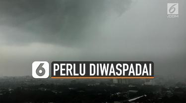 Puncak musim hujan akan terjadi sepanjang Januari hingga Februari 2020. Namun 2 bulan sebelumnya akan terjadi cuaca ekstrem.