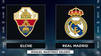 La Liga - Elche Vs Real Madrid (Bola.com/Adreanus Titus)