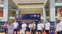 Kemenparekraf membagikan paket Balasa di Palu Sulawesi Tengah (istimewa)