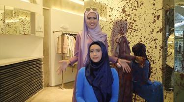 Tutorial Hijab Untuk Lebaran 2018 Bikin Gaya Tampak Memesona Fashion Fimela Com