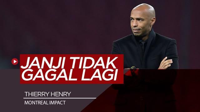 Berita Video Gagal di Monaco, Thierry Henry Mencoba Peruntungan di Klub MLS