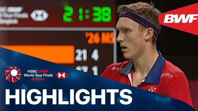 Berita video highlights pertandingan antara Anthony Ginting lawan Viktor Axelsen di BWF World Tour Finals 2020, Rabu (27/1/21)