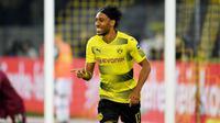 2. Pierre-Emerick Aubameyang (Gabon) - Borussia Dortmund. (AFP/Patrik Stollarz)