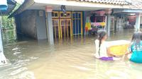 BPBD Kabupaten Pasuruan mencatat dua kecamatan di Kabupaten Pasuruan terdampak banjir pada Minggu, 1 November 2020. (Foto: Dok BPBD)