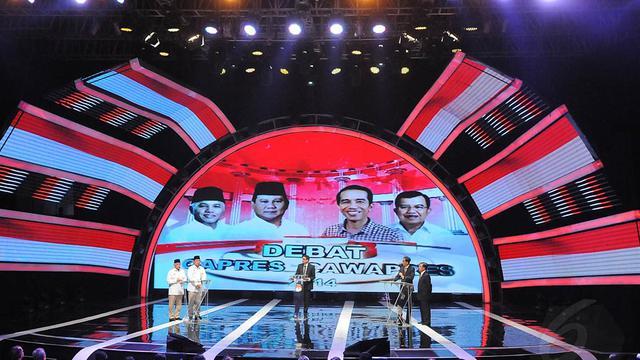 Berebut Suara Dari Debat Capres Indonesia Baru Liputan6 Com