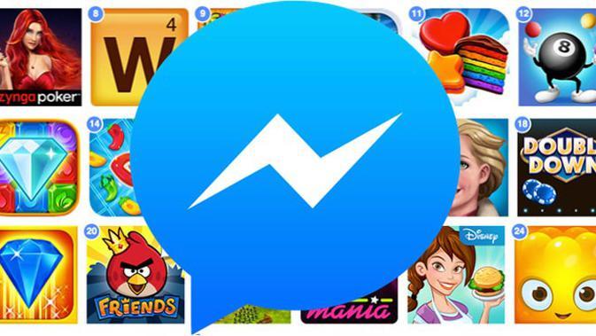 Facebook akan perkenalkan platform gim untuk Messenger. (Doc: Techcrunch)