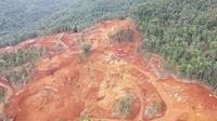 Lokasi penambangan nikel di Konawe Utara.(liputan6.com/dok warga)