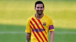 2. Lionel Messi (118 gol) - Ketajaman Lionel Messi dalam mencetak gol memang tidak perlu diragukan lagi. Selama membela Barcelona di kompetisi Liga Champions, pemain asal Argentina ini telah mencetak 118 gol dan dipastikan akan terus bertambah. (AFP/Pau Barrena)
