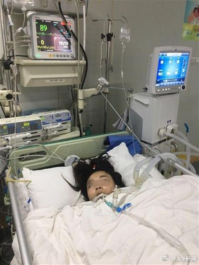 Min Wenwing yang dirawat intensif terkait penyakitnya/copyright worldofbuzz.com
