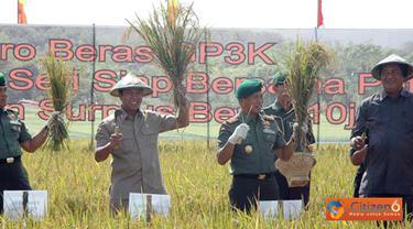 Citizen6, Cianjur: GP3K Intensifikasi ini bertujuan membantu pemerintah meningkatkan produksi padi dan kesejahteraan masyarakat, khususnya para Petani. (Pengirim: Pendam3)