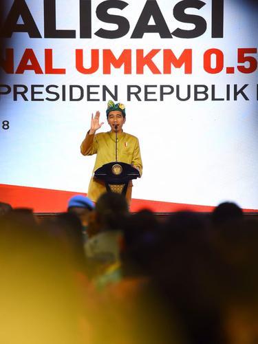 Jokowi Sosialisasikan Penurunan Pajak