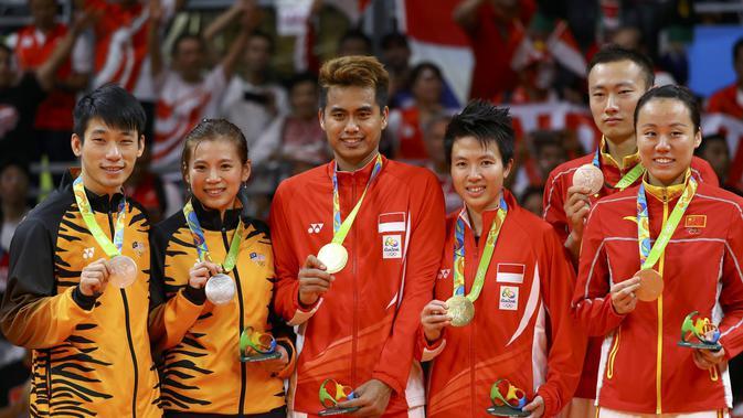 Daftar Peraih Medali Cabang Bulutangkis Olimpiade Rio 2016 ...