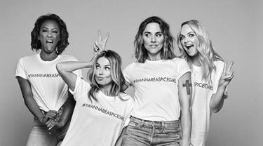 Reunian, Spice Girls Bikin Kaos untuk Donasi Sosial