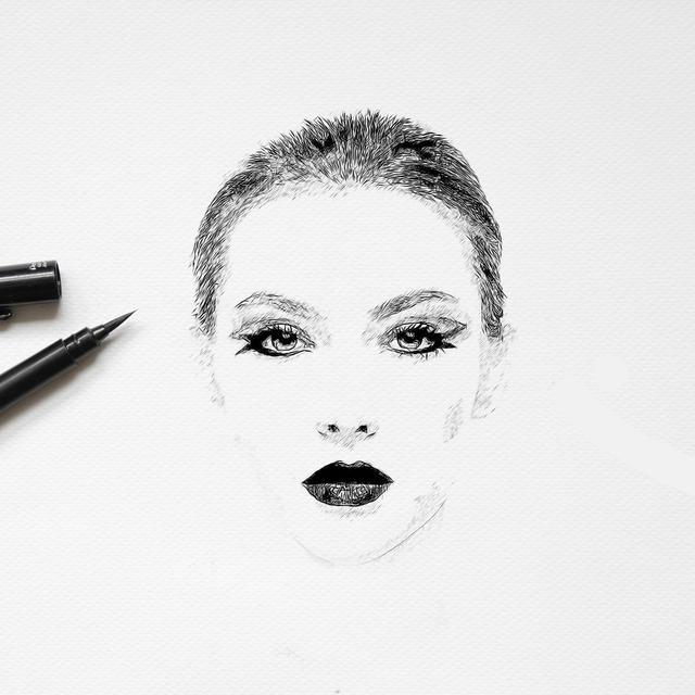 Cara Melukis Wajah Untuk Pemula Dari Menggambar Hingga Mewarnai Hot Liputan6 Com
