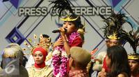 Jumpa pers Dangdut Academy Asia 2 (Foto: Liputan6.com/ Fatkhur Rozaq)