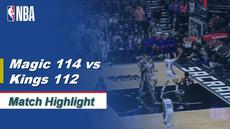 Berita Video Highlights NBA 2019-2020, Orlando Magic Vs Sacramento Kings 114-112