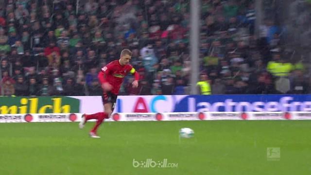 Freiburg kian menjauh dari zona degradasi setelah meraih tiga angka dengan menaklukkan Werder Bremen 1-0 dalam lanjutan Liga Jerma...