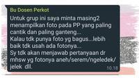 Chat Dosen Usil Ngerjain Mahasiswa saat Kelas Online (Sumber: Twitter/collegemenfess)