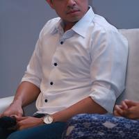 Foto Dude Harlino - Alyssa Soebandono di preskon Pure It (Wimbarsana/bintang.com)