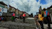 Kementerian PUPR telah membangun prasarana, sarana dan utilitas (PSU) berupa jalan lingkungan untuk 50 unit rumah bersubsidi di Bali. (Dok Kementerian PUPR)