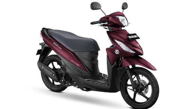 Suzuki Address FI Terbaru Ganti Jubah, Harga Rp17 Jutaan