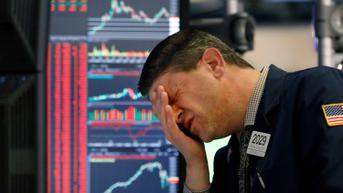 Wall Street Anjlok Imbas Aksi Jual Investor
