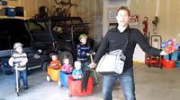 Seorang ayah 5 anak curhat lewat sebuah video kocak.