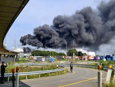 Puluhan Orang Terluka Akibat Ledakan Besar di Kawasan Industri Jerman