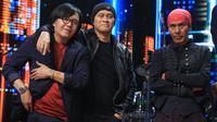 Dewa 19 Grand Final Indonesian Idol 2020, Senin (24/2/2020). (Adrian Putra/Fimela.com)