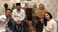 Ma'ruf Amin dan Wury Estu Handayani (Sumber: Instagram/raffinagita1717)