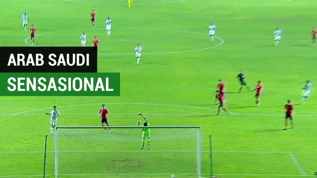 Berita video momen gol sensasional Arab Saudi U-19 saat mengalahkan Korsel (Korea Selatan) U-19 pada final Piala AFC U-19 2018