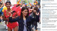 Aming dan Chef Priscilya Gay Pride Parade 2015 (instagram)