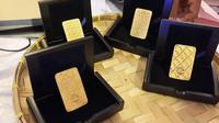 Emas ukuran 20 gram menjadi salah satu kelebihan dari peluncuran emas batangan motif batik.