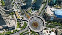 Shanghai dalam bidikan resolusi 195 Gigapiksel. (Foto: Fossbytes)