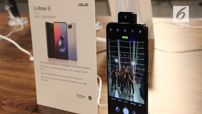 Zenfone 6 resmi meluncur di Valencia, berapa harganya? (Liputan6.com/ Arthur Gideon)
