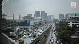 Penampakan Stasiun Mass Rapid Transit (MRT) Fatmawati, Jakarta, Rabu (20/2). Kereta MRT akan mulai proses uji coba operasi secara penuh mulai 26 Februari 2019. (Liputan6.com/Faizal Fanani)