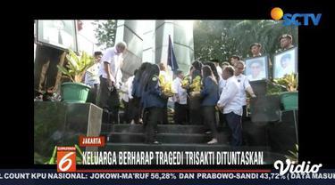 Universitas Trisakti peringati tragedi 12 Mei 1998 dengan upacara, napak tilas, dan tabur bunga.
